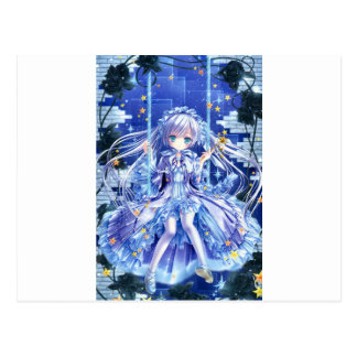 Twinkle Twinkle Little Girl Postcard
