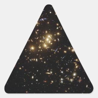 Twinkle Twinkle Little... Lots of Galaxies Triangle Sticker