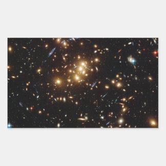 Twinkle Twinkle Little... Lots of Galaxies Rectangular Sticker