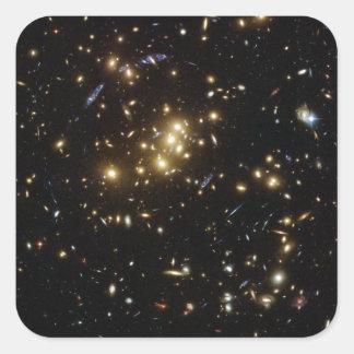 Twinkle Twinkle Little... Lots of Galaxies Square Sticker