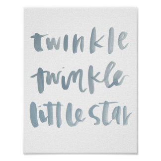 Twinkle, Twinkle Little Star Art Print