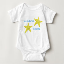 Twinkle twinkle little star baby bodysuit