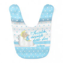 Twinkle, Twinkle Little Star - Baby Boy Bib