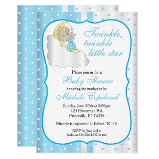Twinkle, Twinkle Little Star -  Baby Boy Card