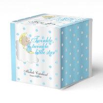 Twinkle, Twinkle Little Star -  Baby Boy Thank You Favor Box