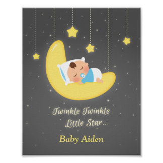 Twinkle Twinkle Little Star Baby Nursery Decor
