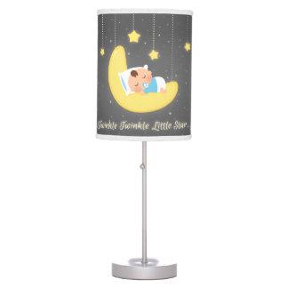 Twinkle Twinkle Little Star Baby Nursery Decor Table Lamp