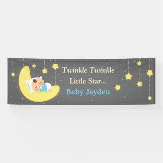 Twinkle Twinkle Little Star Baby Shower Banner