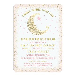 Twinkle Twinkle Little Star Baby Shower Brunch Card