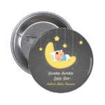 Twinkle Twinkle Little Star Baby Shower Favors 2 Inch Round Button