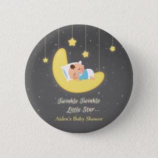 Twinkle Twinkle Little Star Baby Shower Favors Pinback Button