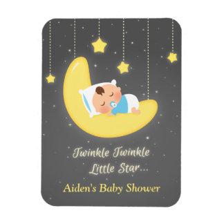 Twinkle Twinkle Little Star Baby Shower Favors Rectangular Photo Magnet