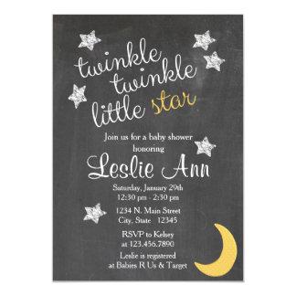 Twinkle Twinkle Little Star Baby Shower Invitation