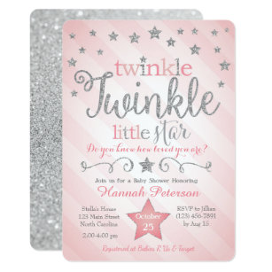 stars invitations zazzle