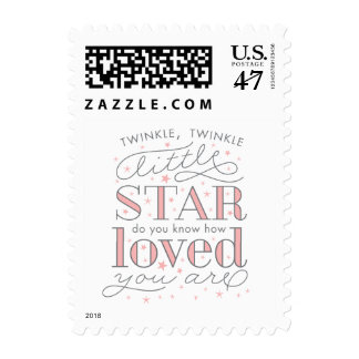 Twinkle Twinkle Little Star Baby Shower Postage