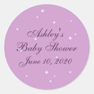 Twinkle Twinkle Little Star Baby Shower Sticker