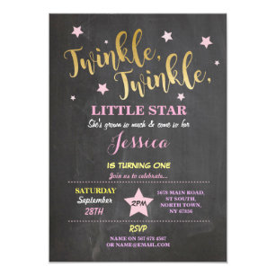 60 off 28th birthday invitations shop now to save zazzle twinkle twinkle little star birthday party invite filmwisefo