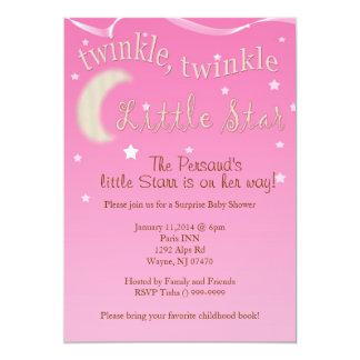 Twinkle, twinkle, little star card