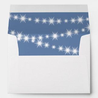 Twinkle Twinkle Little Star Envelope (blue)