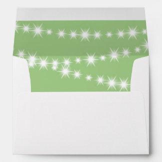 Twinkle Twinkle Little Star Envelope (green)