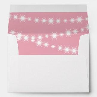 Twinkle Twinkle Little Star Envelope (pink)