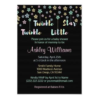 Twinkle Twinkle Little Star Gender Reveal Neutral Card