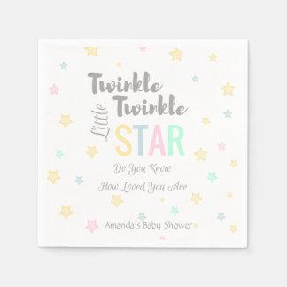 Twinkle Twinkle Little Star - Napkins