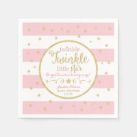Twinkle Twinkle Little Star Party Napkins