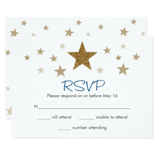 Twinkle Twinkle Little Star RSVP Card