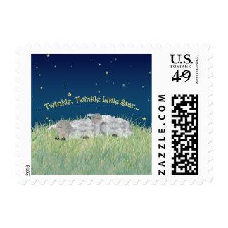 Twinkle Twinkle Little Star Sleeping Sheep Postage