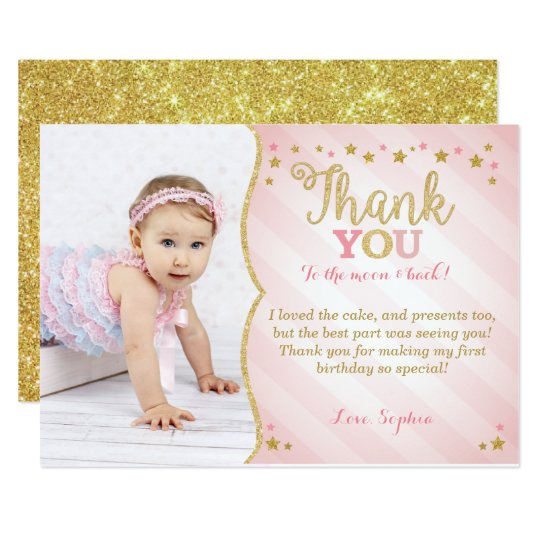 Thank You Cards Invitations Greeting Photo Cards – Thank You for the Birthday Card