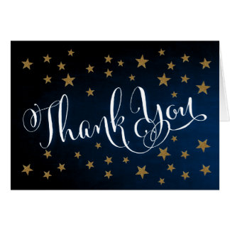Twinkle Twinkle Little Star Thank You Note Card