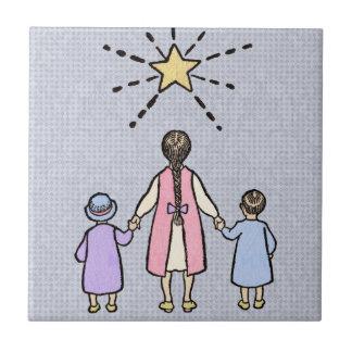 Twinkle Twinkle Little Star Vintage Nursery Rhyme Tiles