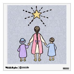 Le Little Star Vintage Nursery Rhyme Wall Decal