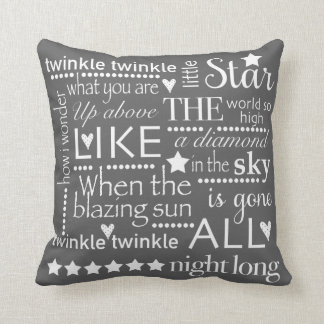 Decorative Throw Pillows With Words : Words Pillows - Decorative & Throw Pillows Zazzle