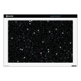 """TWINKLE, TWINKLE, LITTLE STARS (outer space) ~ 17"""" Laptop Decal"""