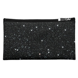 TWINKLE, TWINKLE, LITTLE STARS (outer space) ~ Makeup Bag