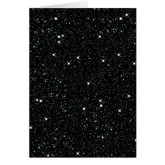 TWINKLE, TWINKLE, LITTLE STARS (outer space) ~ Card