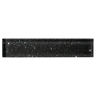 TWINKLE, TWINKLE, LITTLE STARS (outer space) ~ Desk Name Plate