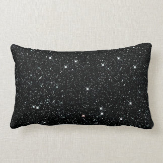 TWINKLE, TWINKLE, LITTLE STARS (outer space) ~ Lumbar Pillow