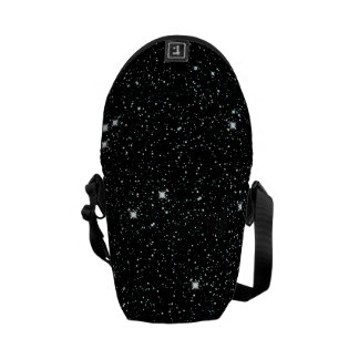 TWINKLE, TWINKLE, LITTLE STARS (outer space) ~ Messenger Bag