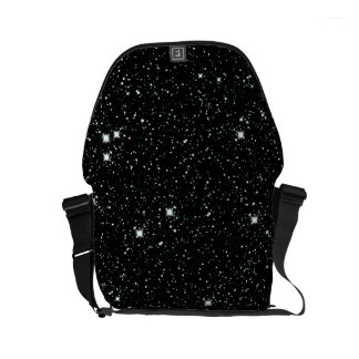 TWINKLE, TWINKLE, LITTLE STARS (outer space) ~ Small Messenger Bag
