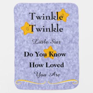 Twinkle Twinkle Little Start Baby Blanket