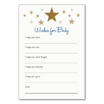 Twinkle Twinkle Little Wishes for Baby Cards
