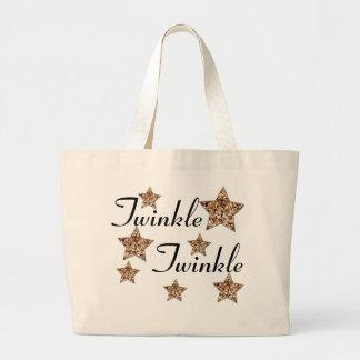Twinkle Twinkle star tote