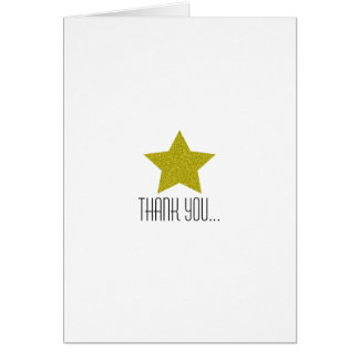 TWINKLE TWINKLE THANK YOU BABY SHOWER CARD