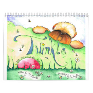 TwinkleandTheLittleRedBall Custom Printed Calendar
