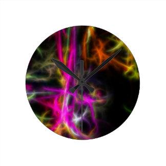 TwinkleLane Round Clock
