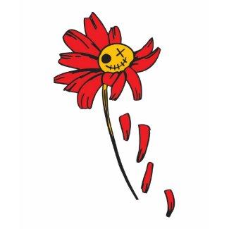TWINKLING DEAD FLOWER-SONRIENTE FLOR MUERTA by SHI shirt
