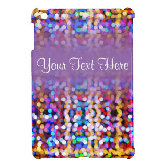 Twinkly Lights Faded iPad Mini Cases